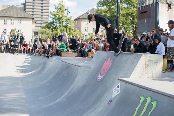 Backside Noseblunt by Hermann Stene at Copenhagen Open 2015