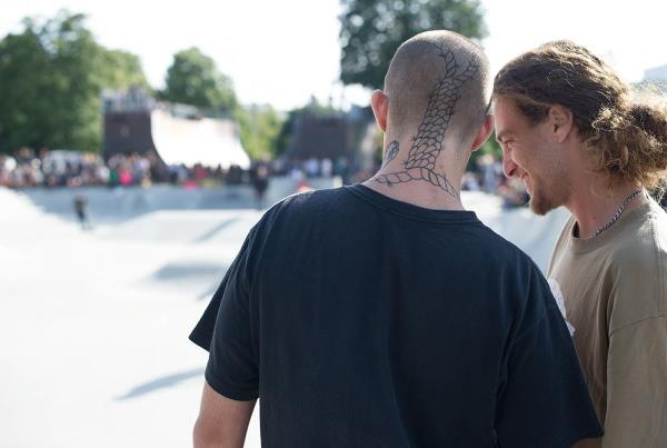 Noose Tat at Copenhagen Open 2015