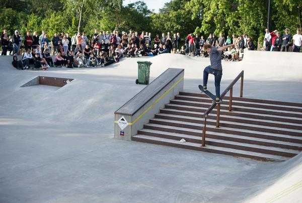 Front Blunt by Jared Cleland at Copenhagen Open 2015