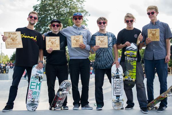 Top 6 at The Boardr Am Copenhagen at Copenhagen Open 2015