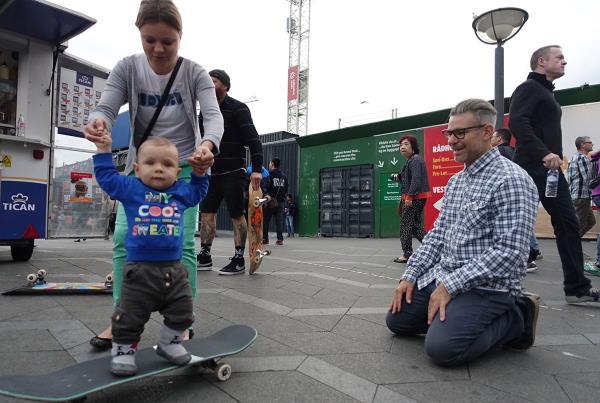 Skateboard Baby at Copenhagen Open 2015