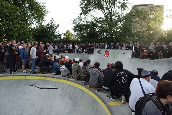Bowl Jam Crowd at Copenhagen Open 2015