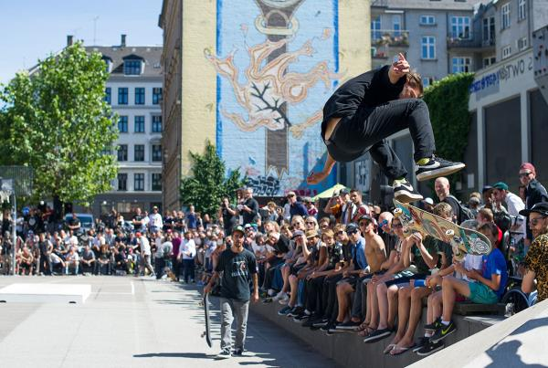 Backside Flip at White Banks at Copenhagen Open 2015
