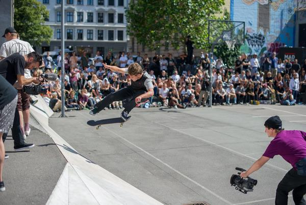 Yoshi Backside Flip at White Banks at Copenhagen Open 2015