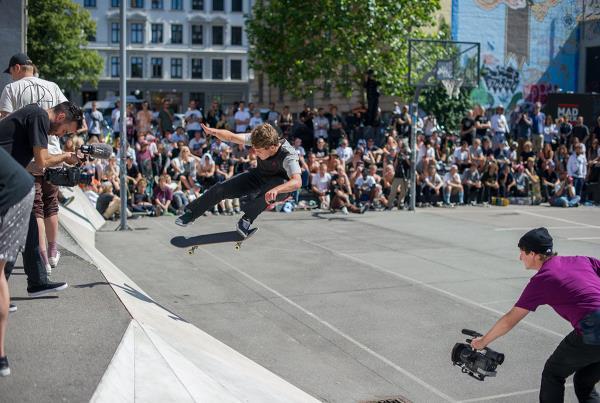 Yoshi Backside Flip at White Banks at Copenhagen Open 2015
