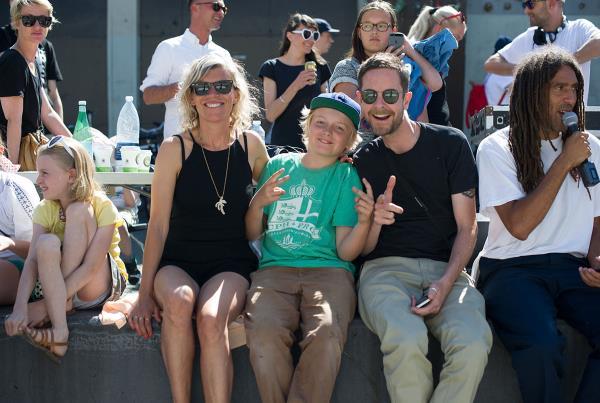 William and Family at Copenhagen Open 2015