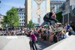 It was nice seeing Hjalte Halberg skate in person. That's a backside flip.
