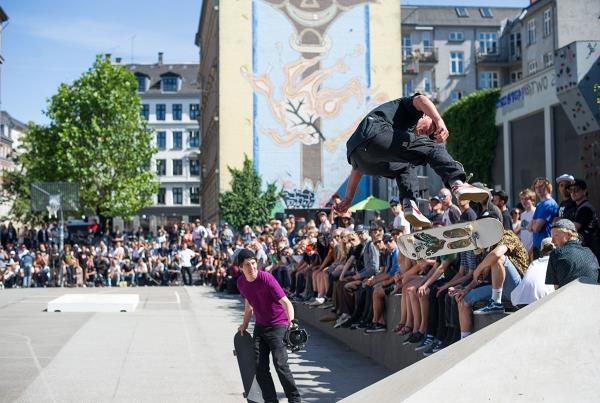 Hjalte Halberg Backside Flip at Copenhagen Open 2015