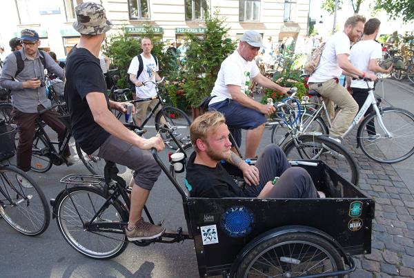 Free Bike Rides at Copenhagen Open 2015