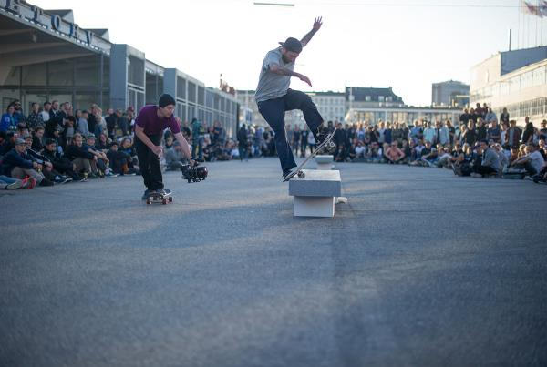 Bobby on a Noseblunt Slide at Copenhagen Open 2015