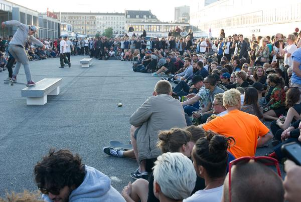 The Meat Packing Crowd at Copenhagen Open 2015