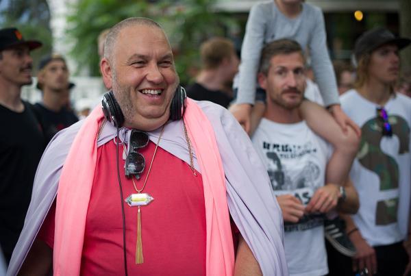 Master Fatman at Tivoli at Copenhagen Open 2015