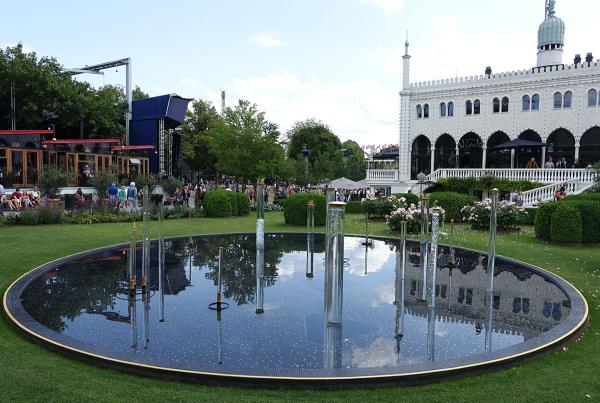 Pond at Tivoli at Copenhagen Open 2015