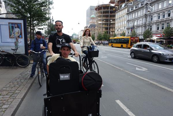 James Has a Ride at Copenhagen Open 2015