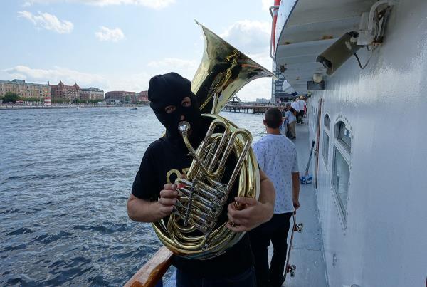 Stolen Tuba at Copenhagen Open 2015