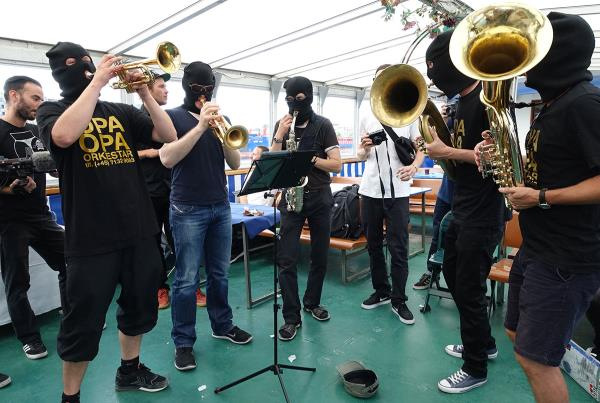 Burglar Band at Copenhagen Open 2015