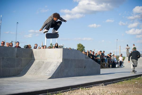 Kevin Kickflips at Copenhagen Open 2015
