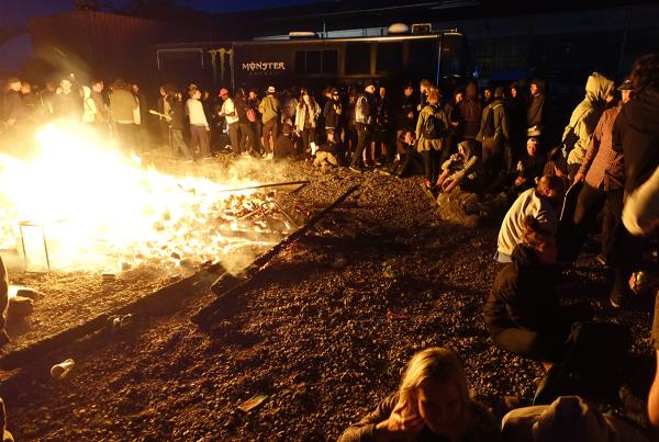 Triangle Bonfire at Copenhagen Open 2015