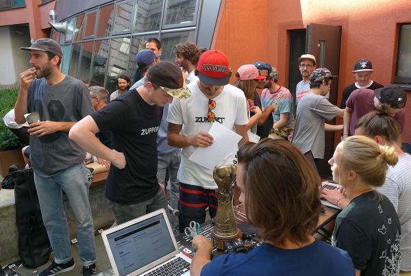 Check In at adidas Skate Copa at Berlin