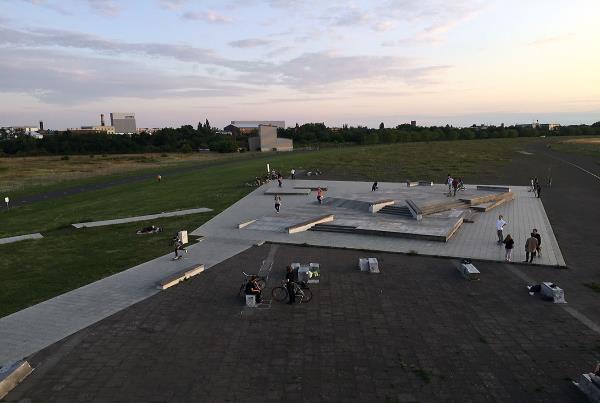 Skatepark View at adidas Skate Copa at Berlin