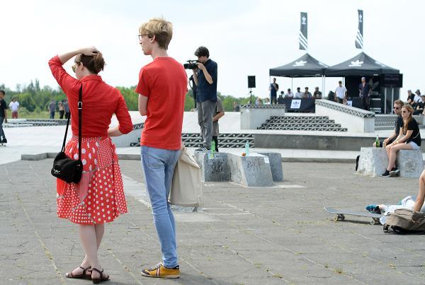Euro Couple at adidas Skate Copa at Berlin