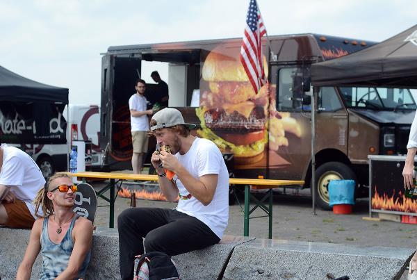 Food Truck at adidas Skate Copa at Berlin