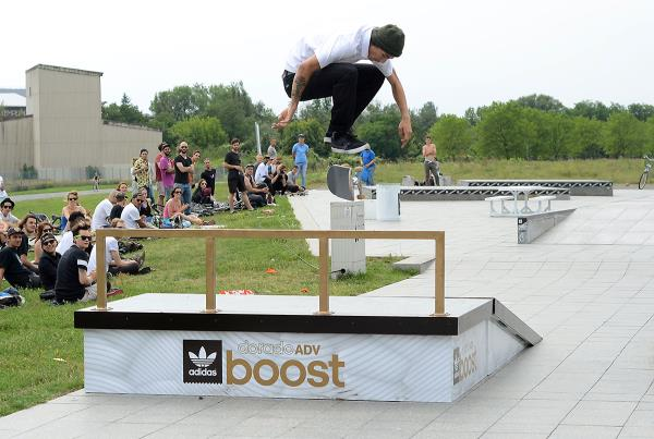 Nollie Heel at adidas Skate Copa at Berlin