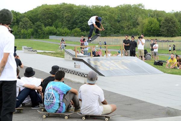 Daniel Ledermann 360 at adidas Skate Copa at Berlin