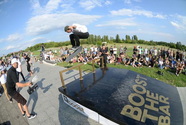 Nollie Inward Heel at adidas Skate Copa at Berlin