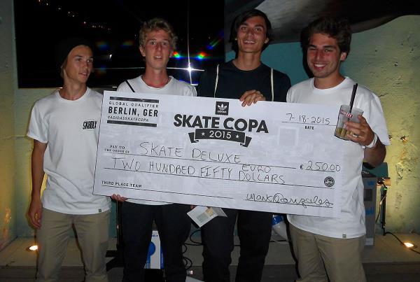 Skate Deluxe at adidas Skate Copa at Berlin