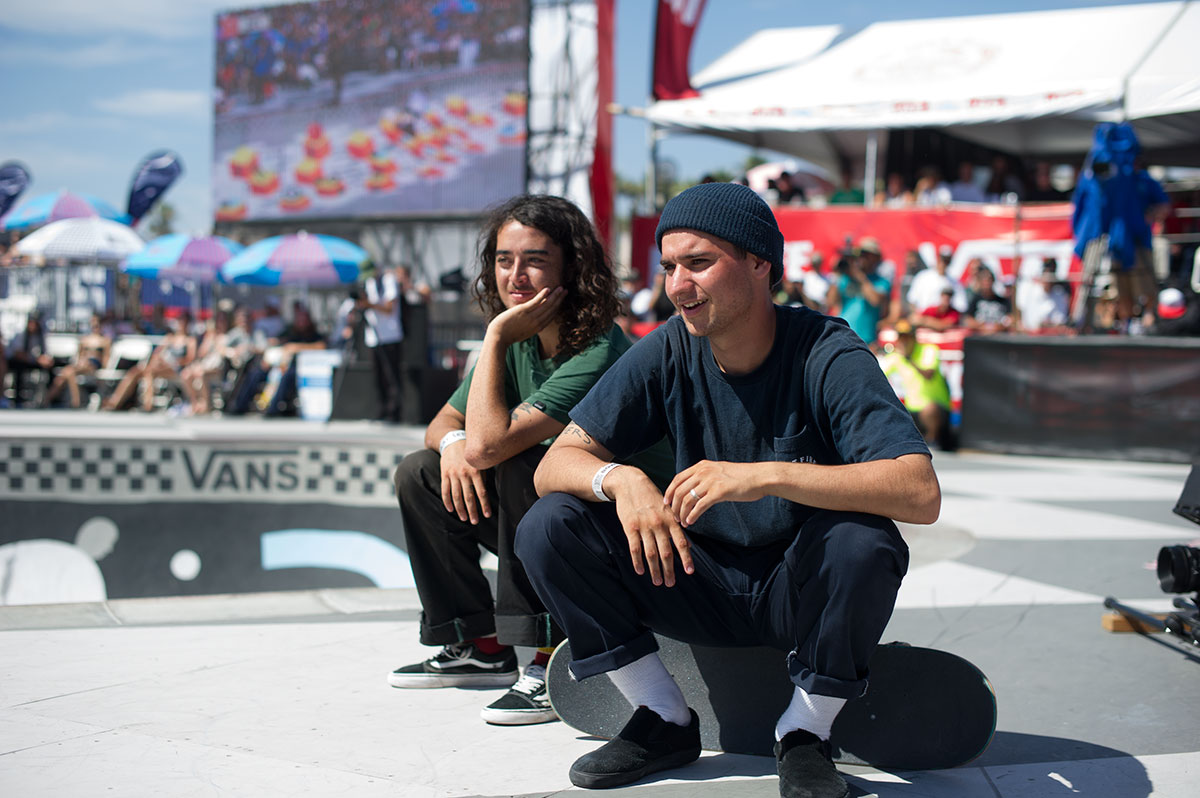 White Socks at Van Doren Invitational Huntington 2015