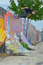 Josh Friedberg was all around kiling it this weekend and this wallride is proof of that.