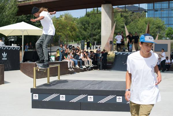 Smith Grind at adidas Skate Copa Barcelona 2015