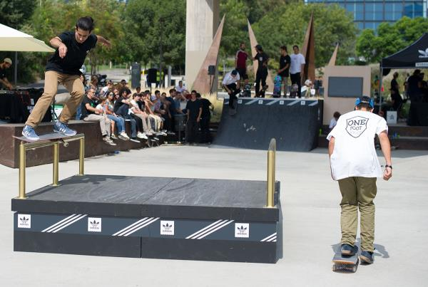 Feeble Kickflip Out at adidas Skate Copa Barcelona 2015