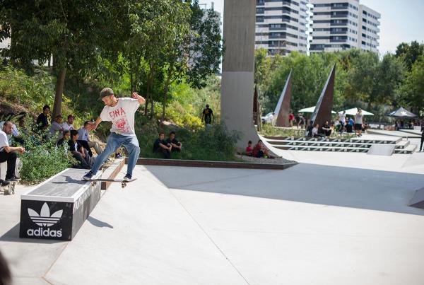 FSTS at adidas Skate Copa Barcelona 2015
