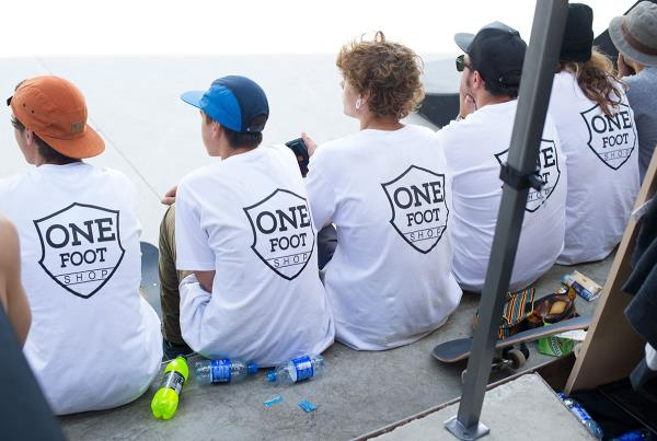 One Foot Team at adidas Skate Copa Barcelona 2015