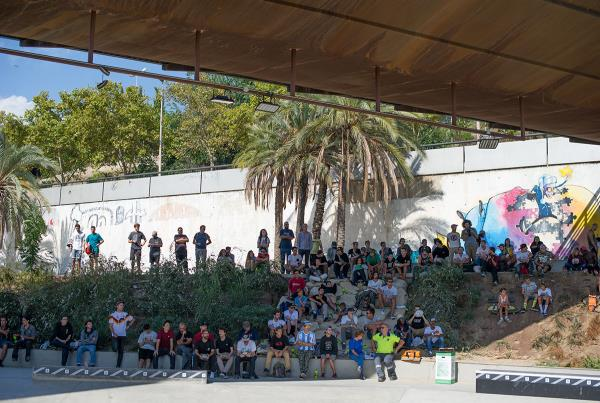 The Crowd at adidas Skate Copa Barcelona 2015