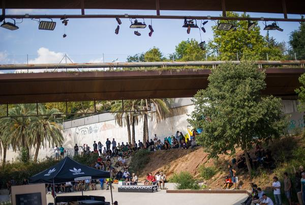 Shoes on the Wire at adidas Skate Copa Barcelona 2015