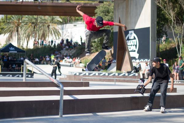 Switch FS Flip at adidas Skate Copa Barcelona 2015