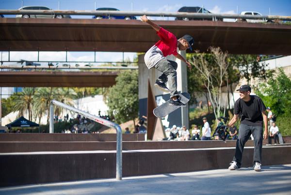Daniel 360 Flip at adidas Skate Copa Barcelona 2015