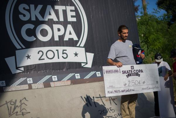 Keep Wallriding at adidas Skate Copa Barcelona 2015