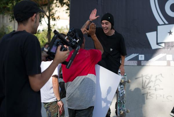 Tactic High Fives at adidas Skate Copa Barcelona 2015