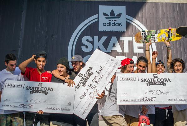 Tactic Takes It at adidas Skate Copa Barcelona 2015