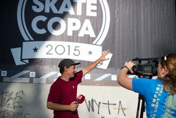 Marcos at adidas Skate Copa Barcelona 2015