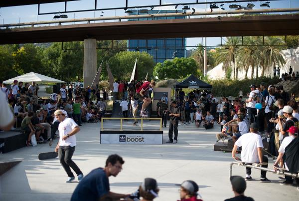 Boost the Bar Wrap at adidas Skate Copa Barcelona 2015