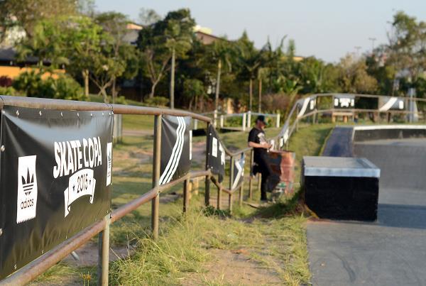 Banners at adidas Skate Copa at Sao Paulo