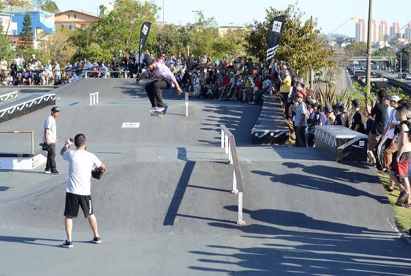 Pyramid Kickflip at adidas Skate Copa at Sao Paulo