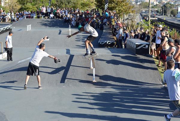 Kickflip Back Lip at adidas Skate Copa at Sao Paulo
