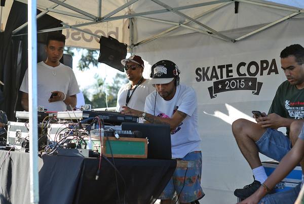 DJ KL Jay at adidas Skate Copa at Sao Paulo