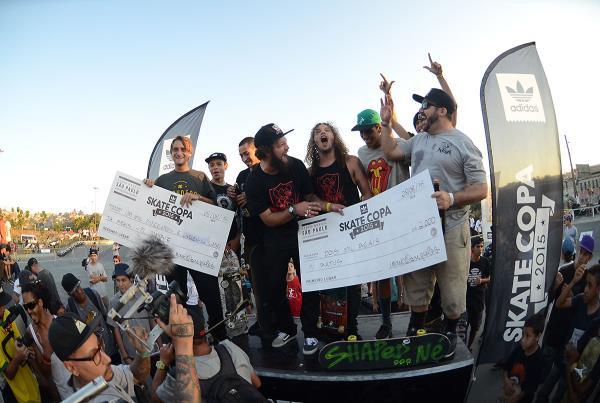 Ratus Wins at adidas Skate Copa at Sao Paulo